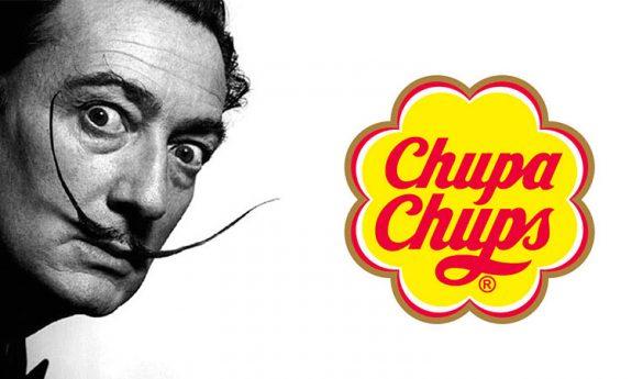 Chupa Chups, el primer caramelo con palo de la historia. Su logotipo fue creación de Dalí