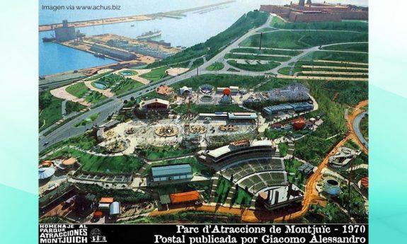 El Parque de Atracciones de Montjuïc (1966-1998) en Barcelona, ingenio venezolano en Catalunya.